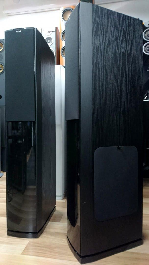 Jamo S606 kaiuttimet mustat | Audio & HiFi | TV-Audio.fi