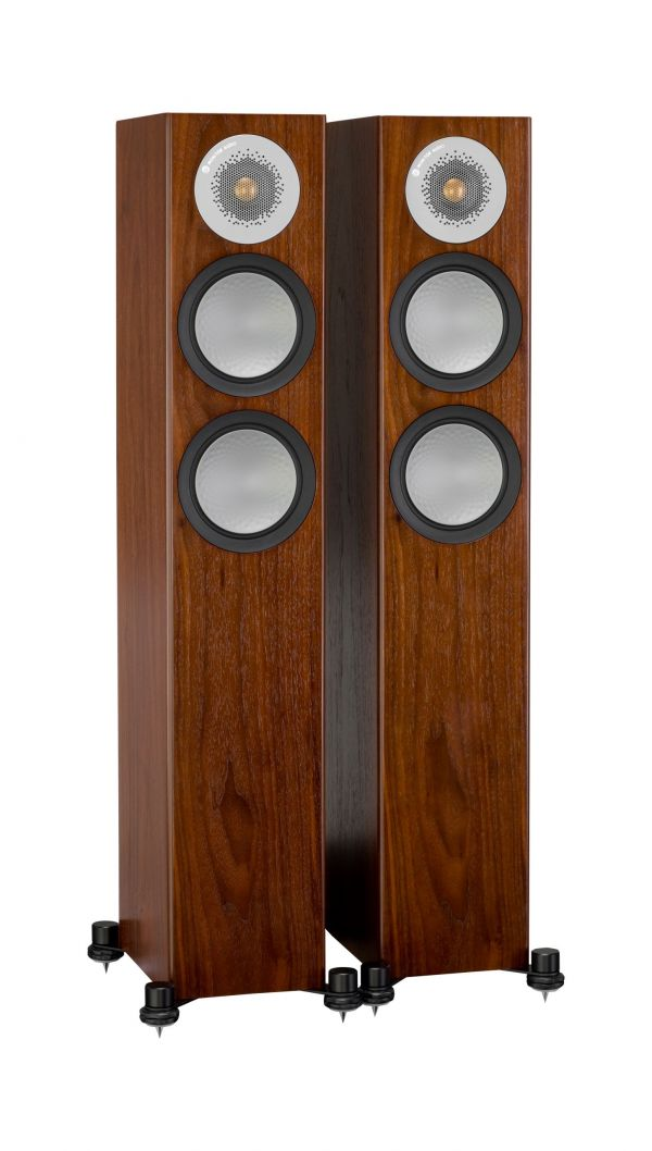 Monitor Audio Silver 200 Iso Walnut Pair scaled
