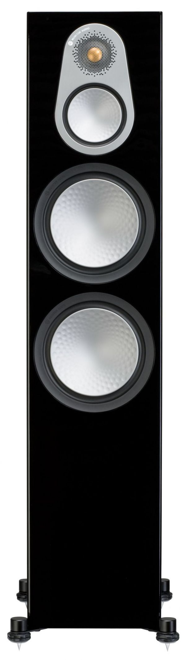 Monitor Audio Silver 500 Front Black Gloss scaled