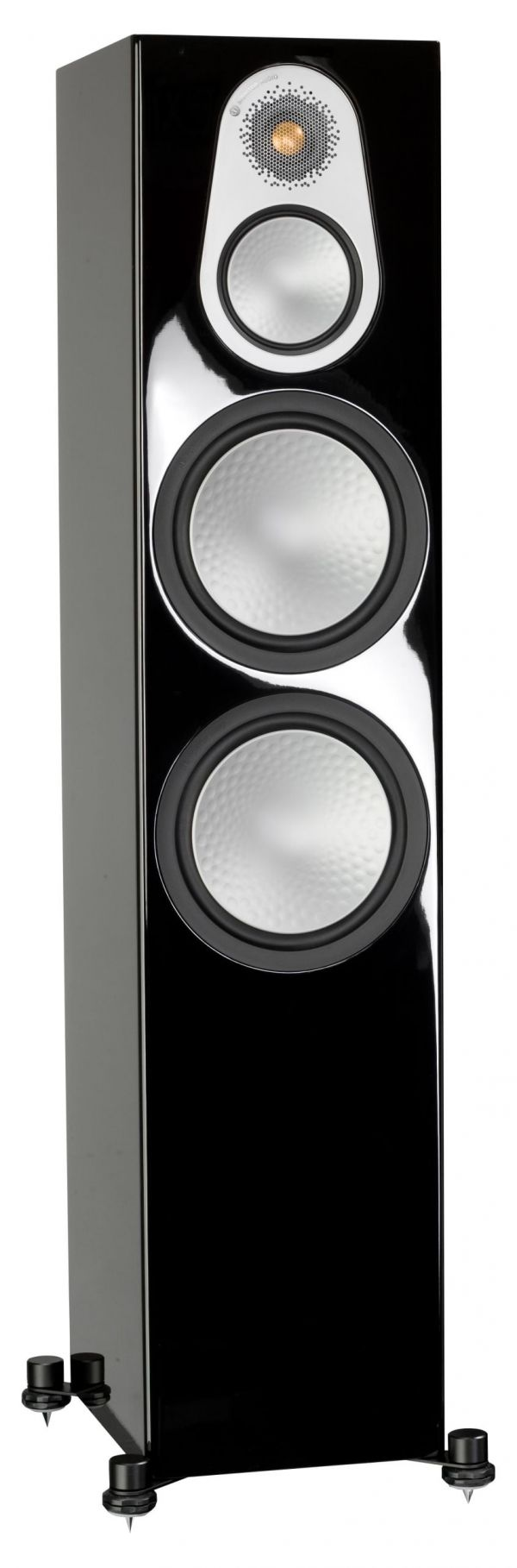 Monitor Audio Silver 500 Iso Black Gloss scaled