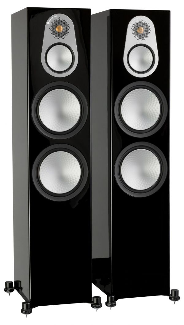 Monitor Audio Silver 500 Iso Black Pair scaled