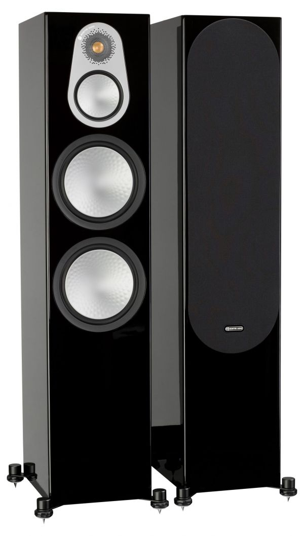 Monitor Audio Silver 500 Iso Black Pair 1Gr scaled