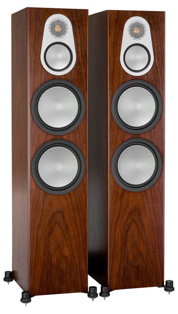 Monitor Audio Silver 500 Iso Walnut Pair scaled