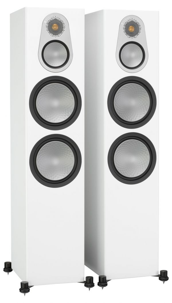 Monitor Audio Silver 500 Iso White Pair scaled