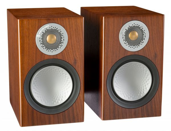 Monitor Audio Silver 50 Iso Walnut Pair scaled