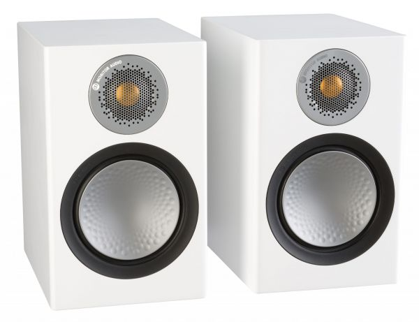 Monitor Audio Silver 50 Iso White Pair scaled